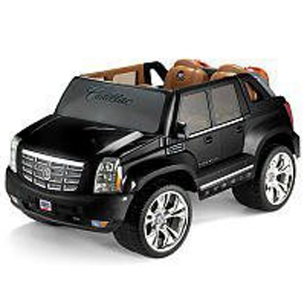 Power Wheels Black Cadillac Escalade 2008